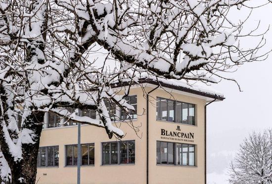 【新时尚】深访Blancpain宝珀机芯工厂与Le Brassus顶级制表工坊