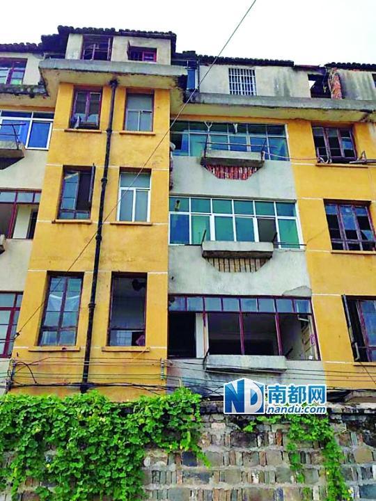 """建成22年的永丰县委宿舍楼,被当地以""""棚户区改造""""为名立项拆迁。"""