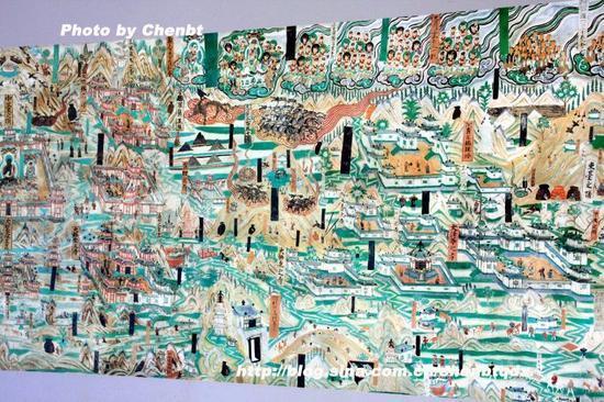 莫高窟壁画:五台山图_新浪佛学_新浪网2014高乘載管制時間