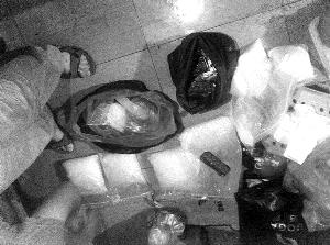 警方缴获冰毒3公斤、K粉6公斤等毒品