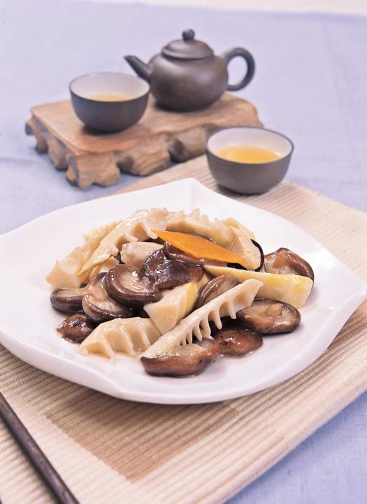 九华山斋菜:佛国二冬