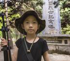 6岁女孩游历抗战纪念地