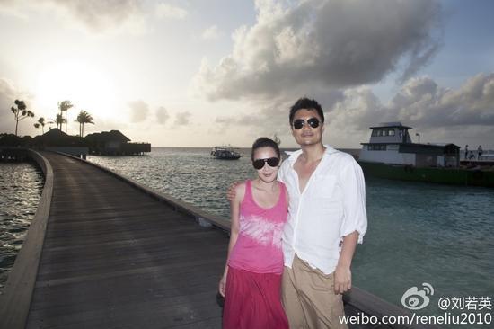 刘若英和老公钟石