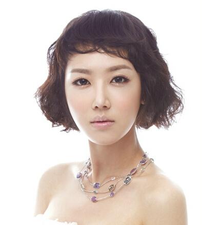 韩式短发新娘发型推荐