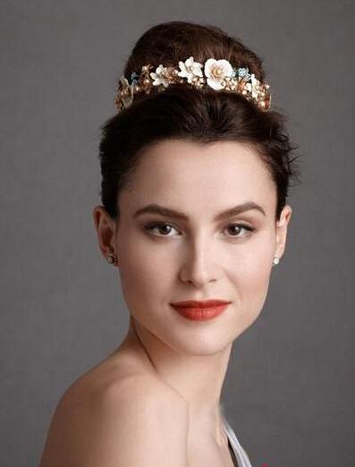 2014欧式新娘发型最新造型推荐