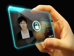 指纹识别安全ID卡