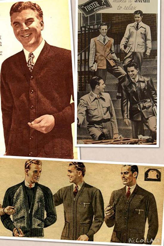 1940年代的时装海报