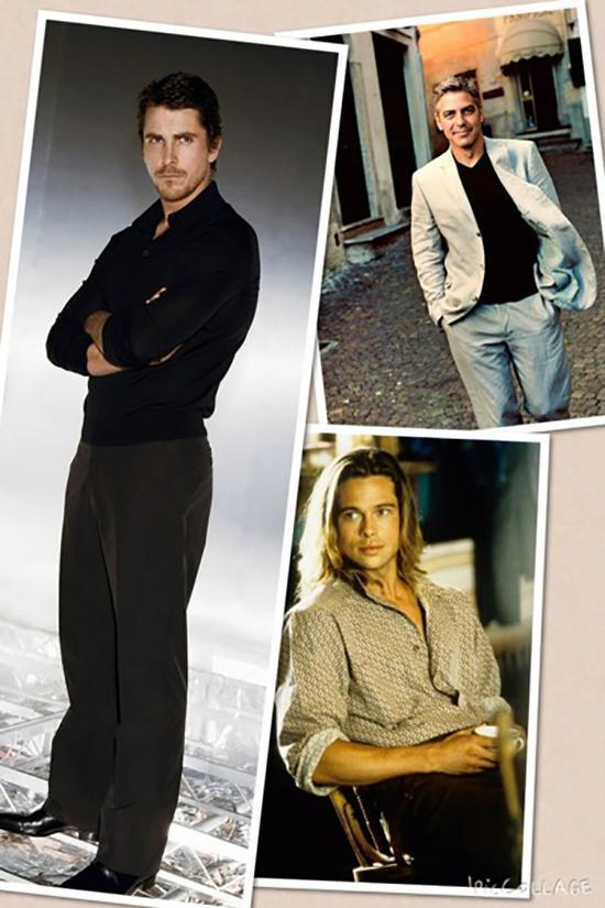 1990年代前所未有的轻薄  90年代的时尚ICON:BRAD PITT、CHRISTIAN BALE、GEORGE CLOONEY