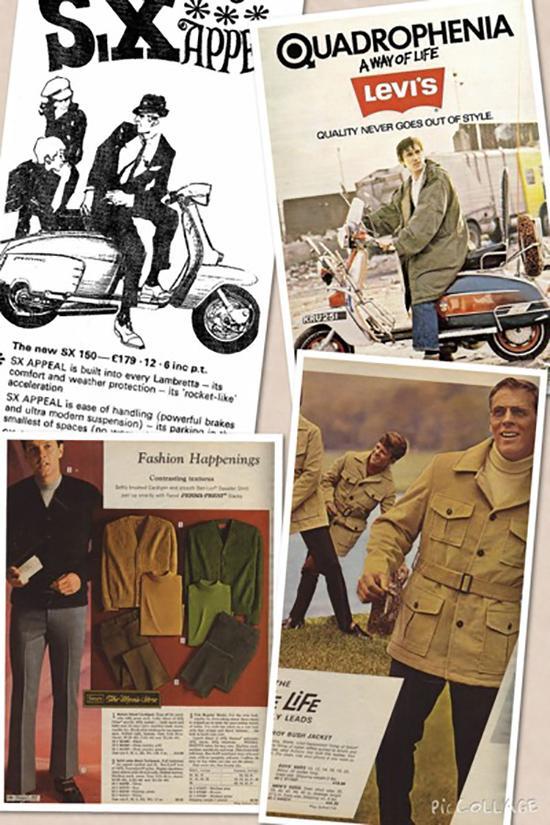 60年代的男士时装海报