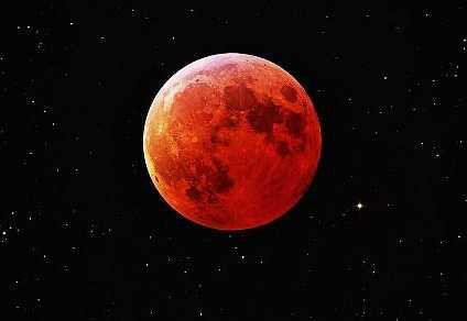 红色的月亮有没有让你有种整个世界都不一样了的幻觉