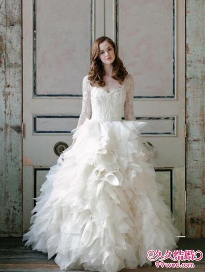独属12星座的新娘婚纱礼服