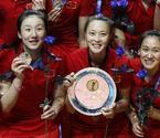 女排世锦赛中国队获亚军