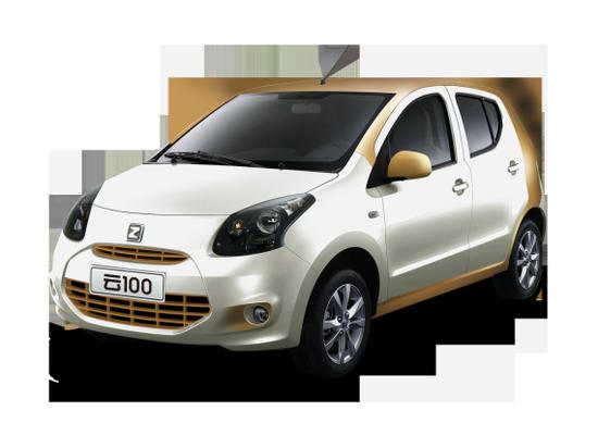 众泰云100纯电动汽车10月24日上市高清图片