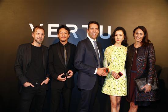 【新时尚】VERTU ASTER系列中国发布会 张震杜鹃惊艳亮相