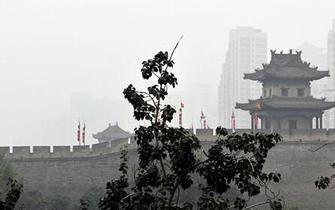 西安又遭雾霾天气