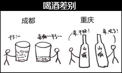 重庆与成都人喝酒差别