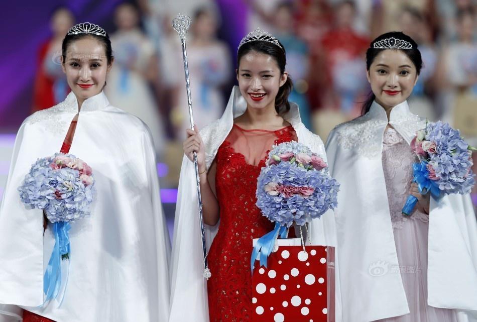 美少女中国模特选拔大赛三甲出炉