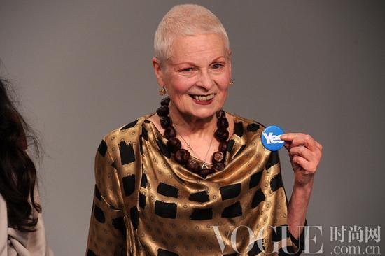 """Vivienne Westwood's """"yes"""" vote"""