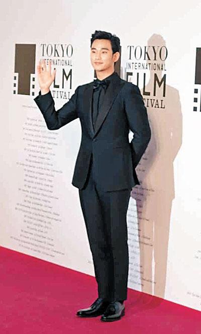 金秀贤日本赢最佳演员奖 都教授人气盛