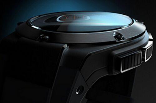 惠普与时尚设计师迈克尔·巴斯蒂安联手打造的智能手表