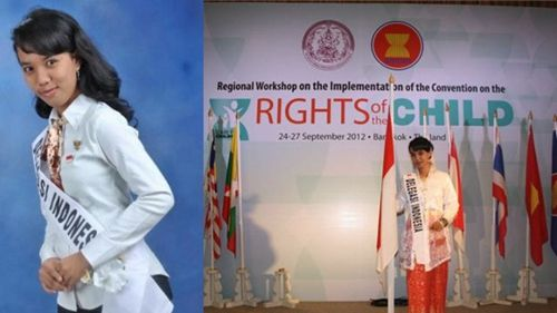 伟里莎曾代表印尼出席在泰国举行的儿童权利大会