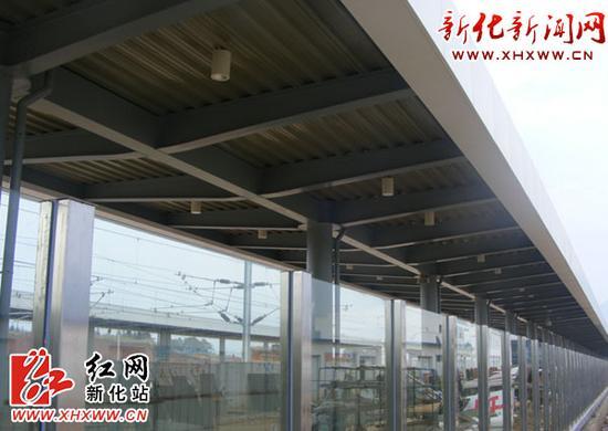 沪昆高铁新化南站即将开通