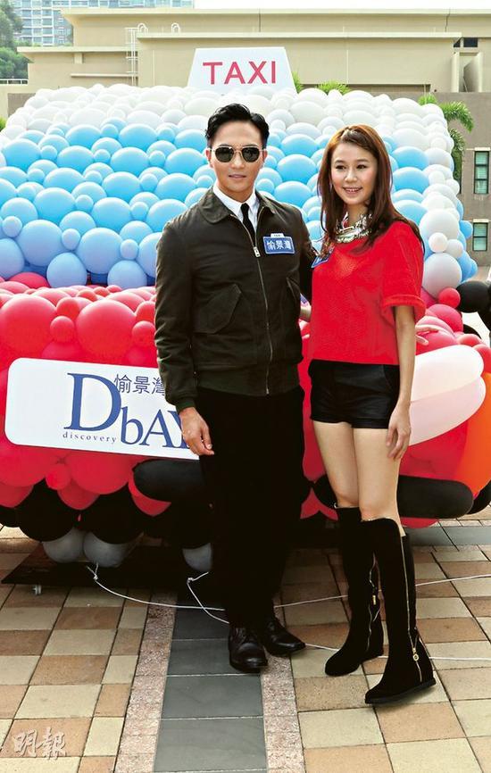 黄翠如(右)日前生日,不知道张智霖(左)有没有祝贺?