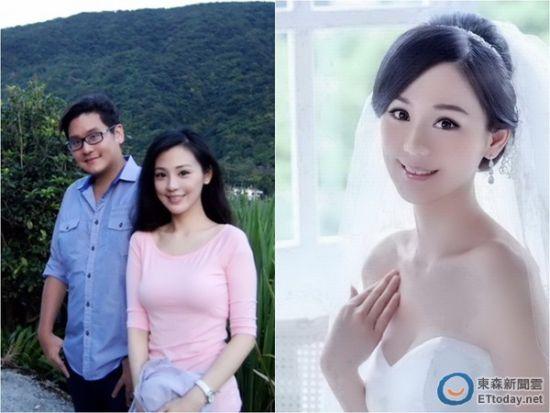 台美女主播将嫁百亿富豪侄子 曝唯美婚纱