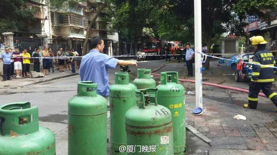厦门福园公寓爆炸事故 致5人死亡多人重伤