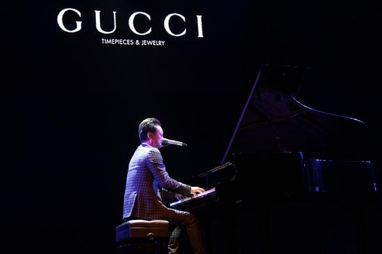 【新珠宝】GUCCI腕表首饰支持中国才华横溢的年轻音乐人
