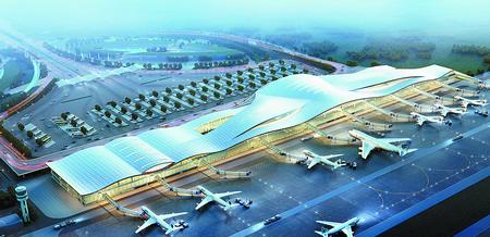 徐州观音机场二期2016年竣工 将建3.4万㎡候机