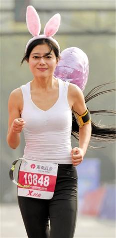 杭州美女跑团 美翻啦