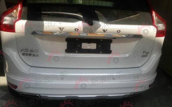 国产沃尔沃XC60本周日上市 搭3款发动机高清图片