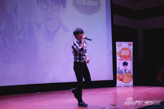 汪苏泷教唱 小星星 与歌迷零距离互动