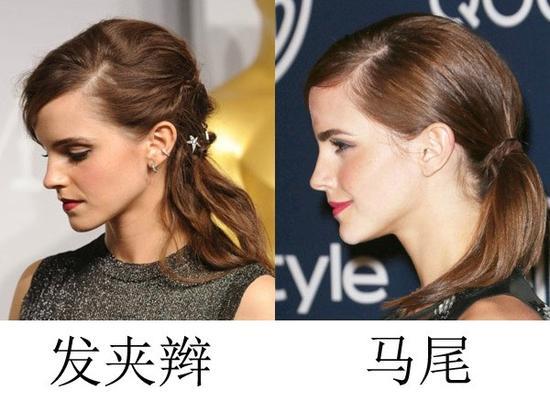 女人眼中vs男人眼中的扎发