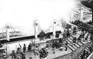 秋涛路出土的大炮 当年轰击过进犯杭州的倭寇