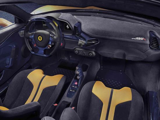 法拉利458 special a内饰高清图片