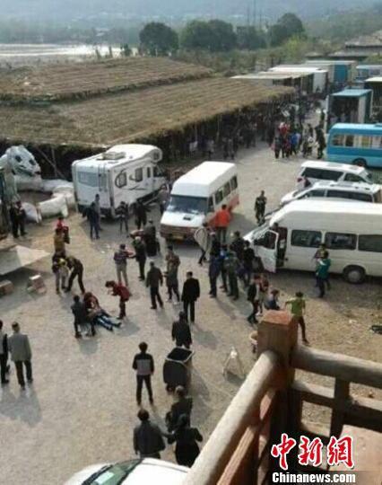 张一山新片剧组马受惊 致游客1死12人受伤
