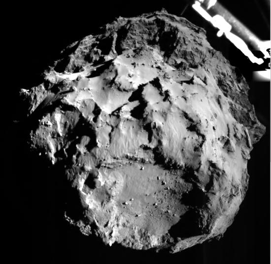 这是菲莱着陆器上搭载的ROLIS(Rosetta