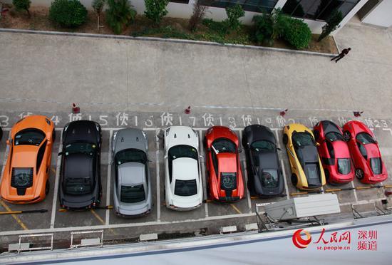 13辆香港豪车过境到深圳飙车被查扣