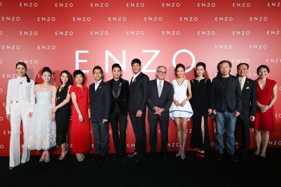 """【新珠宝】ENZO在华十年庆典 璀璨""""星""""光闪耀申城"""
