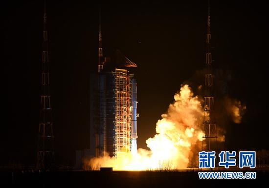 遥感卫星二十三号主要用于科学实验、国土资源普查、农作物估产及防灾减灾等领域。新华社记者燕雁摄