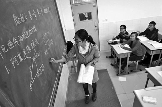 辽宁三所高中试点开设大学课