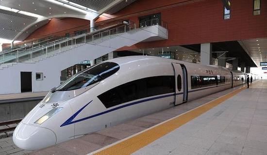 哈大盘营高铁12月10日起实施冬季运行图