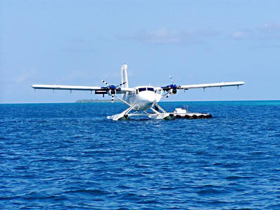 舟山开通水上飞机 乃我国首条水上飞机通勤航线