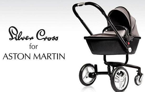 含着金汤匙长大 阿斯顿马丁跨界婴儿车高清图片