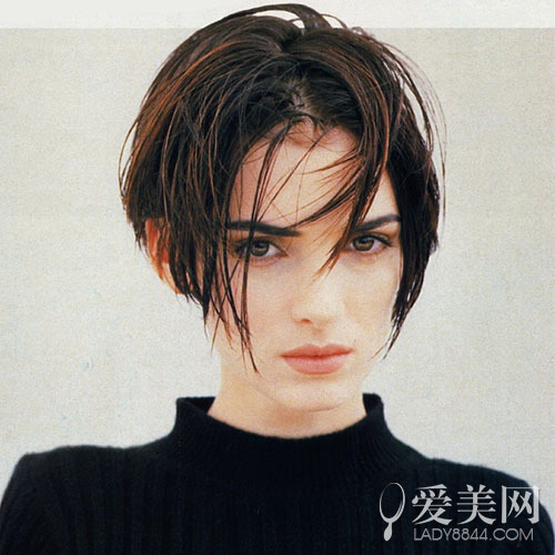 欧美女生复古个性短发 兼具性感帅气 短发 复古 新浪时尚 新浪网