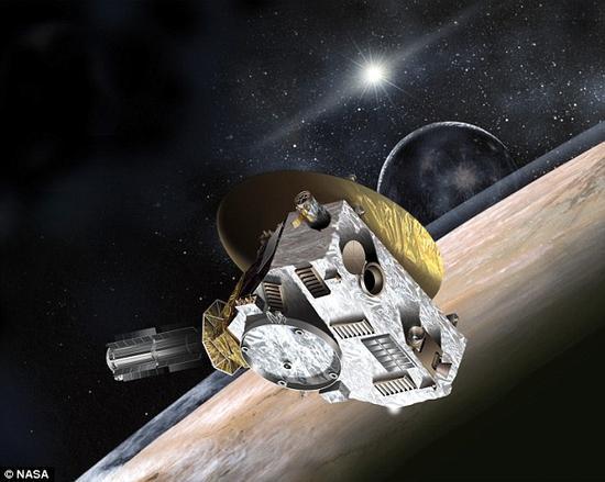 关于冥王星还存在着许多未解的谜题。2015年7月15日,在飞掠过冥王星的时候,新视野号航天器(艺术想象图)有望为我们带来其中一些问题的答案。