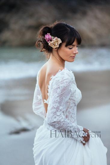 海滨婚纱照