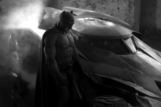 阿弗莱克版中年蝙蝠侠
